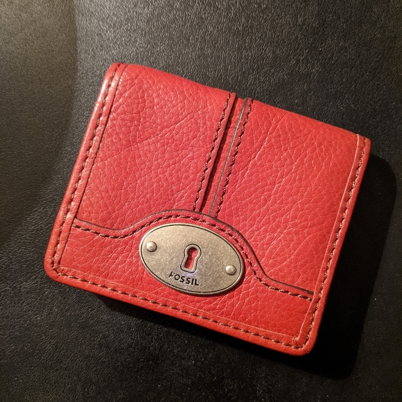 Fossil card holder wallet